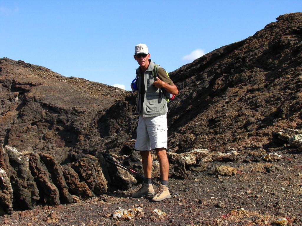 Auf dem Weg zum Vulkan