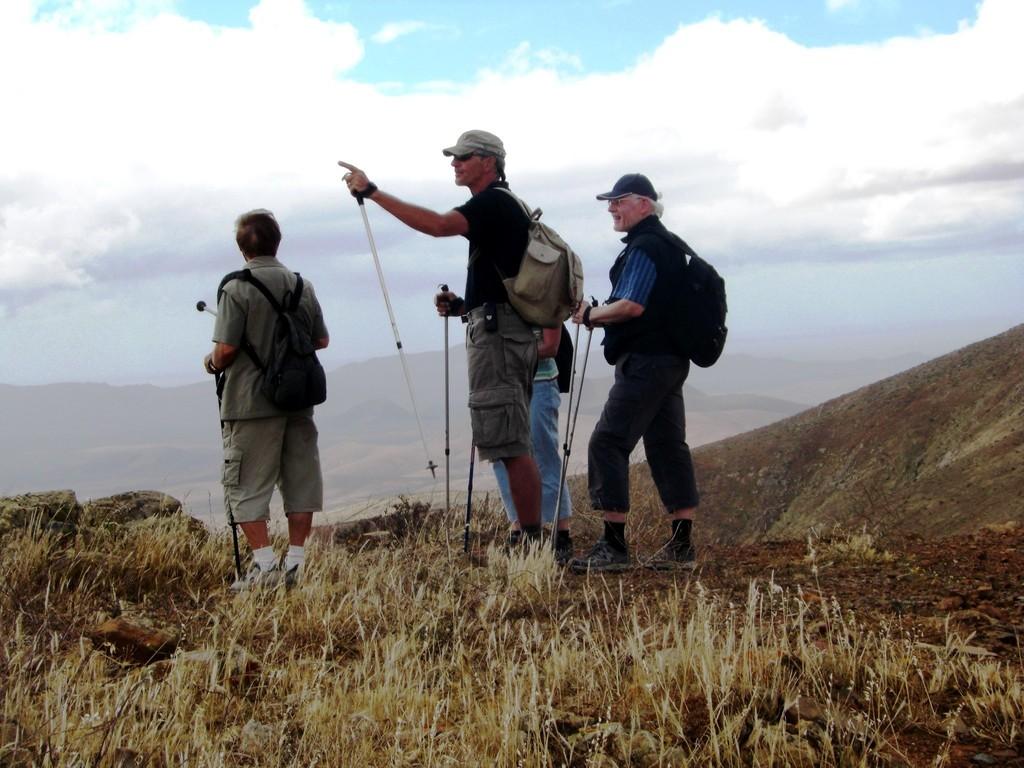 Viele Informationen für den Wanderer