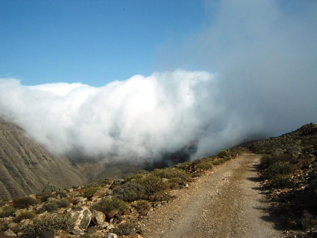 Ein Wolkenschauspiel