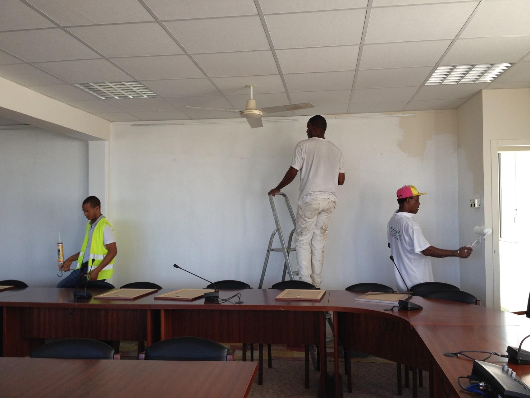 Rénovation de locaux administratifs (UAG de Schoelcher)