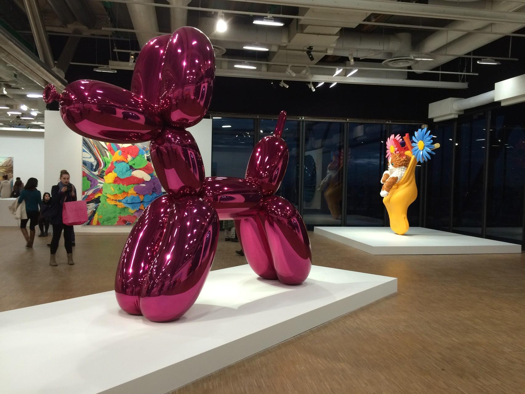 Parcours Jeff Koons au Centre Georges Pompidou