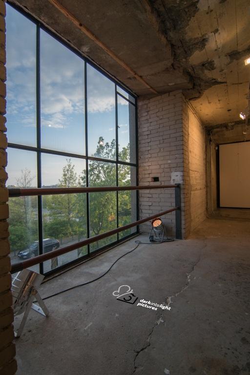 Kunst-Ausstellungsraum des Bunker-D