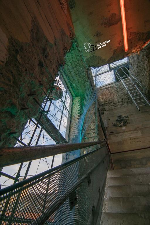 Treppenhaus im Bunker-D
