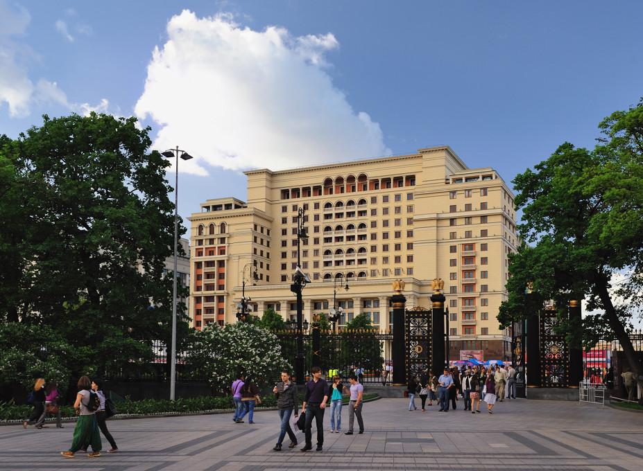 Гостиница Москва.