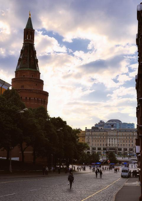 Кремлевский проезд.
