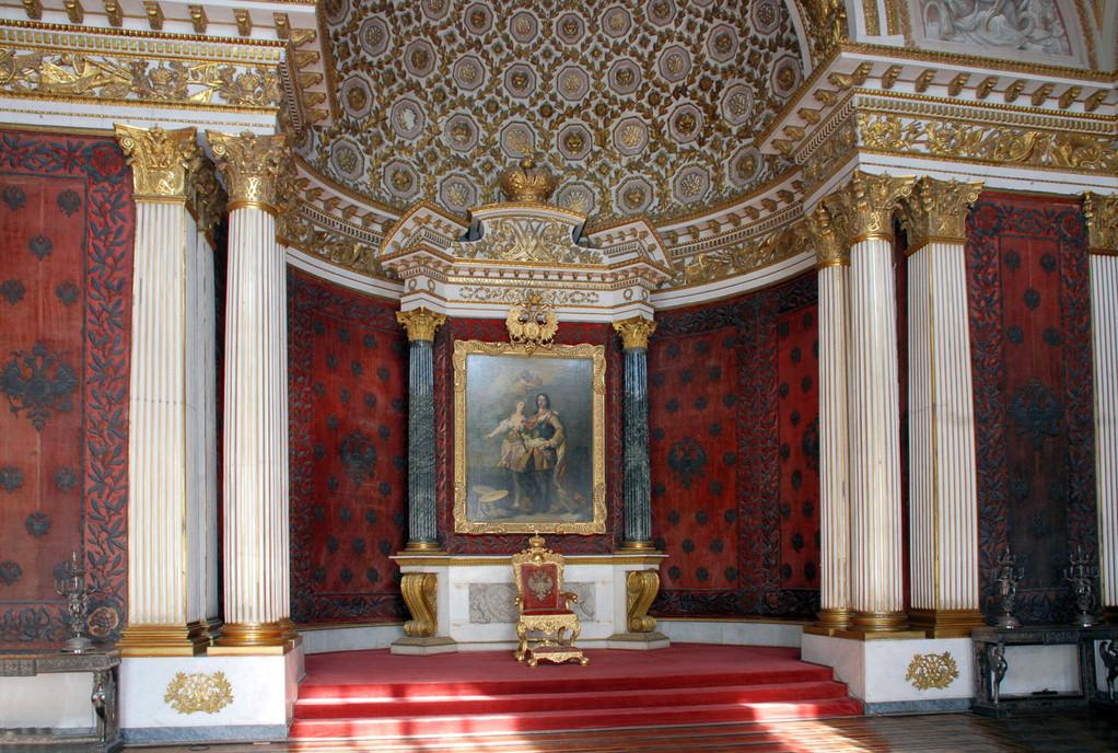 Зимний дворец. Малый тронный зал.