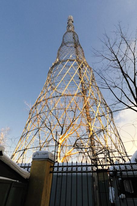 Шуховская башня на Шаболовке.