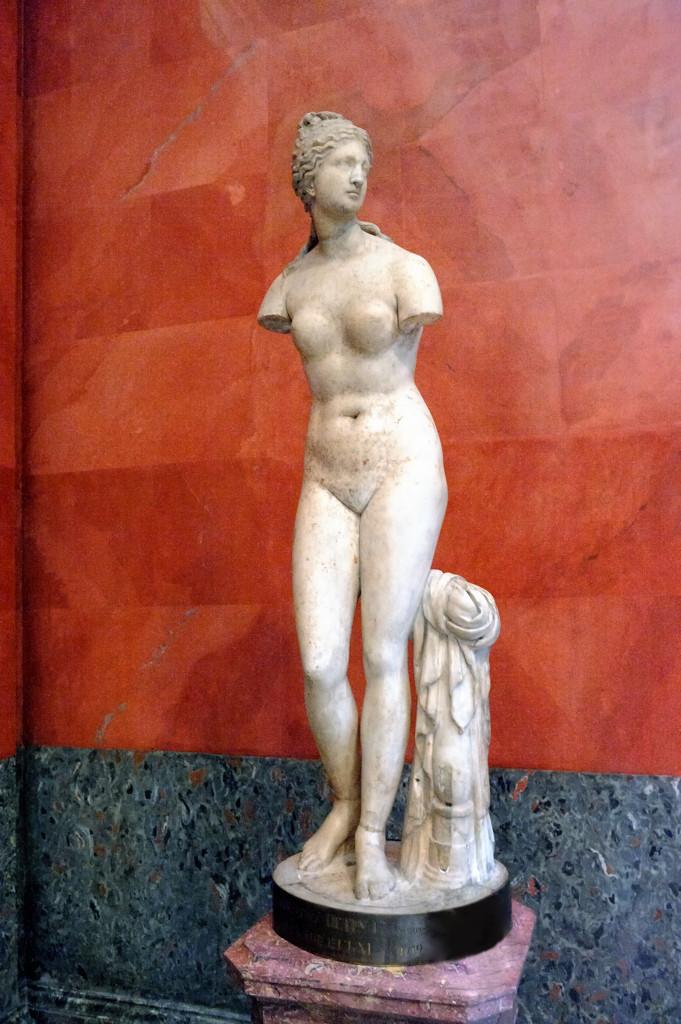 Афродита (Венера Таврическая). Греческая работа II в. до н.э.