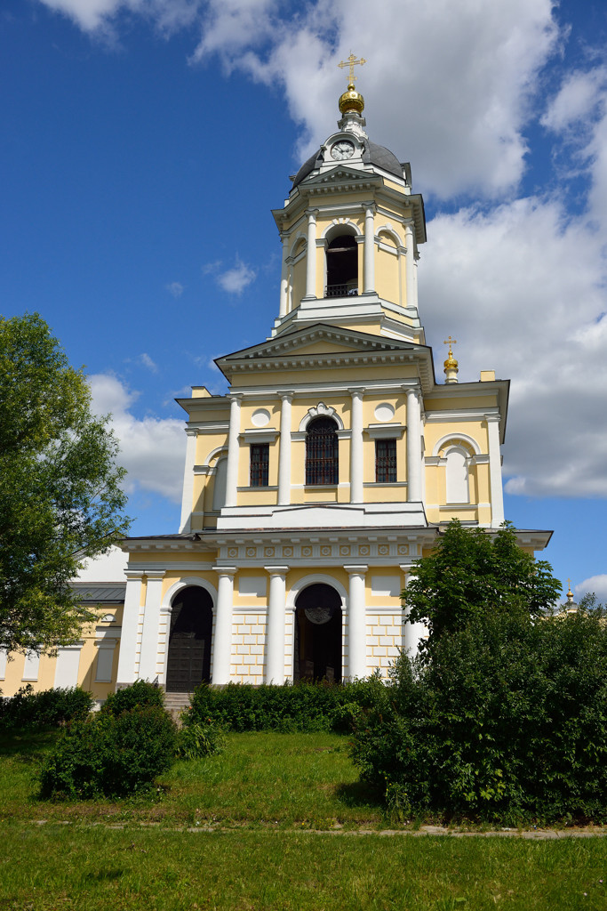 Высоцкий мужской монастырь.
