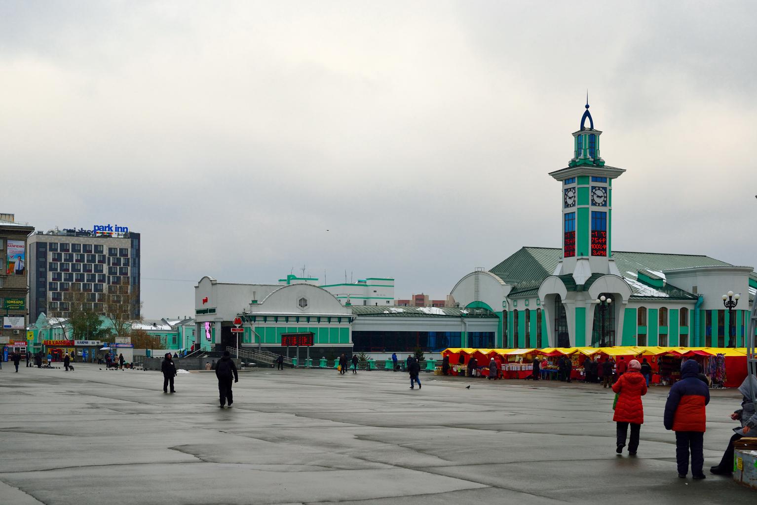 площадь Гарина-Михайловского (привокзальная)