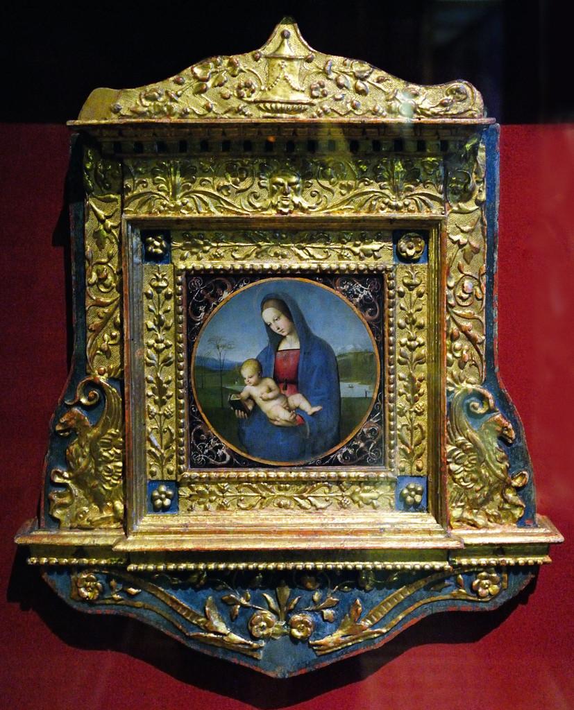 Рафаэль (Рафаэлло Санти) 1483-1520. Мадонна с младенцем (Мадонна Конестабиле).