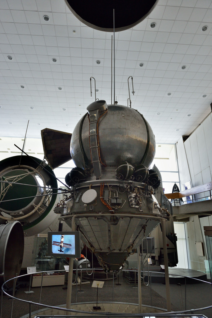 """Космический корабль """"Восток"""". Копия в натуральную величину."""