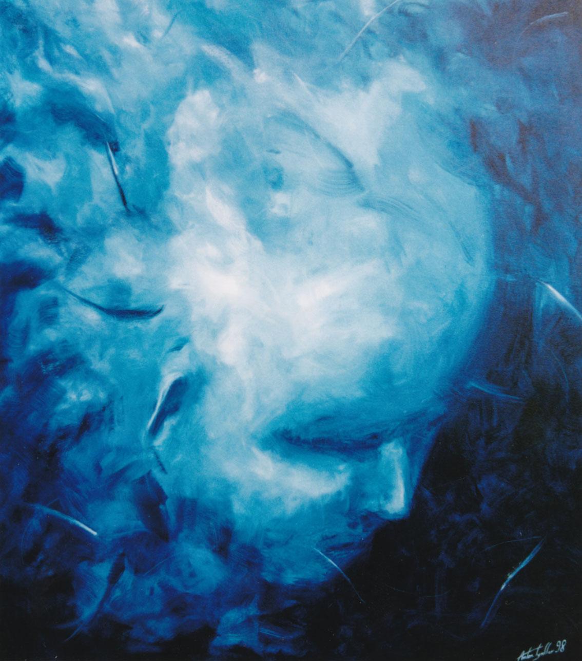 Denker III, 120x100 cm