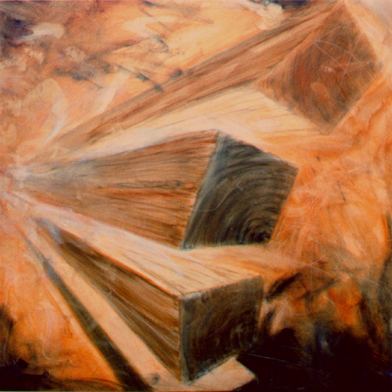 Element II, 80x80 cm