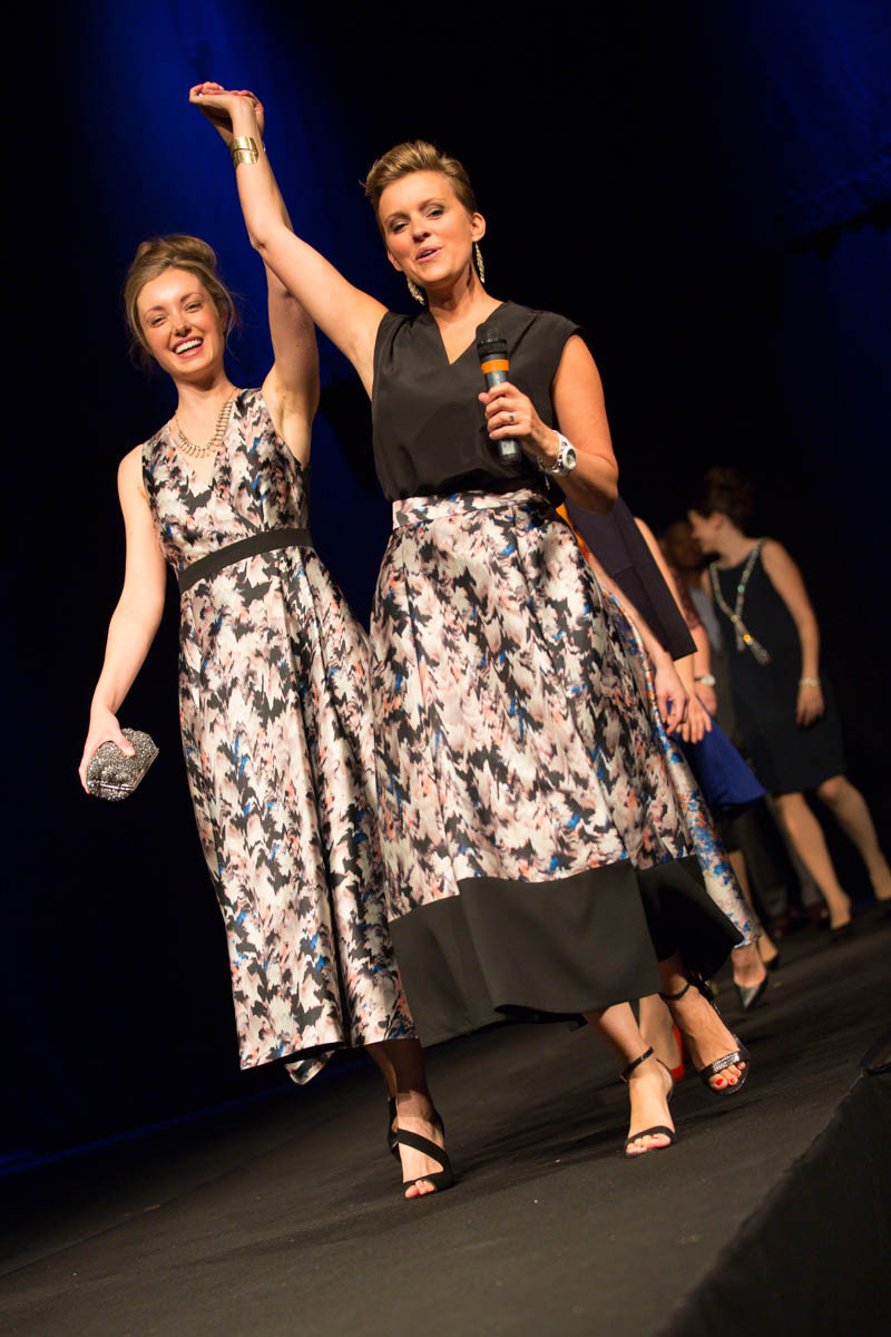 The finale at September's Rose Theatre Fashion Show