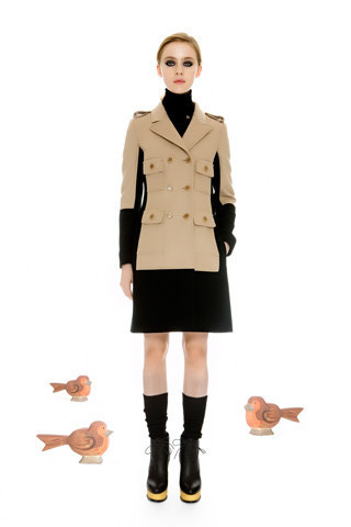 Moschino Cheap and Chic Pre Fall 2012