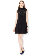 A fabulously flattering little black dress from Monsoon