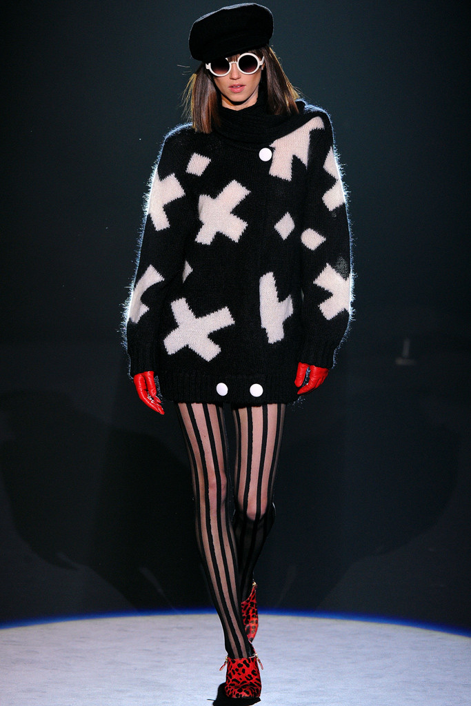 Betsey Johnson, Fall 2012