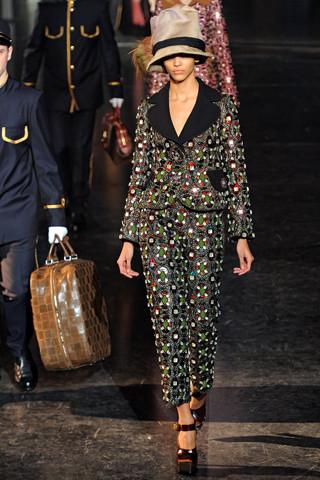 Louis Vuitton, Fall 2012