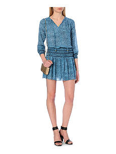 Michael Kors Smocked Dress