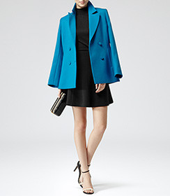 Reiss blue coat