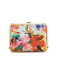 Faith floral clutch bag