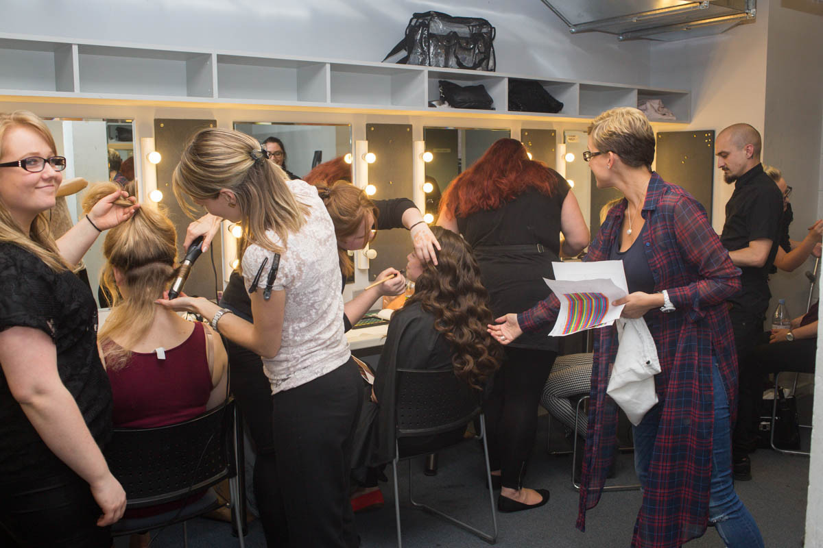 Hair & Make-up Backstage at the Rose Theatre