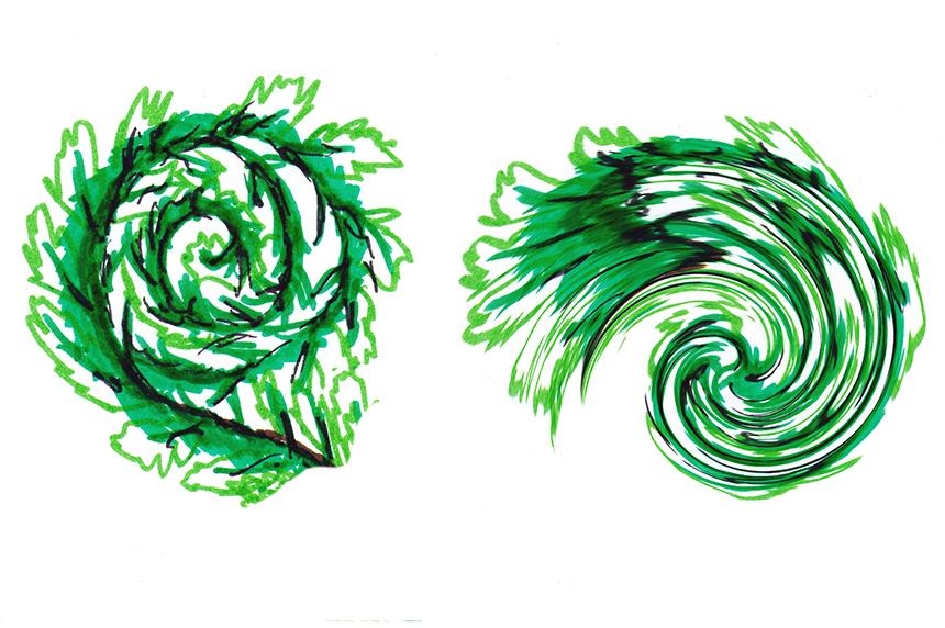 Zeichnung Kerim El Ouerdi / grafische Umsetzung