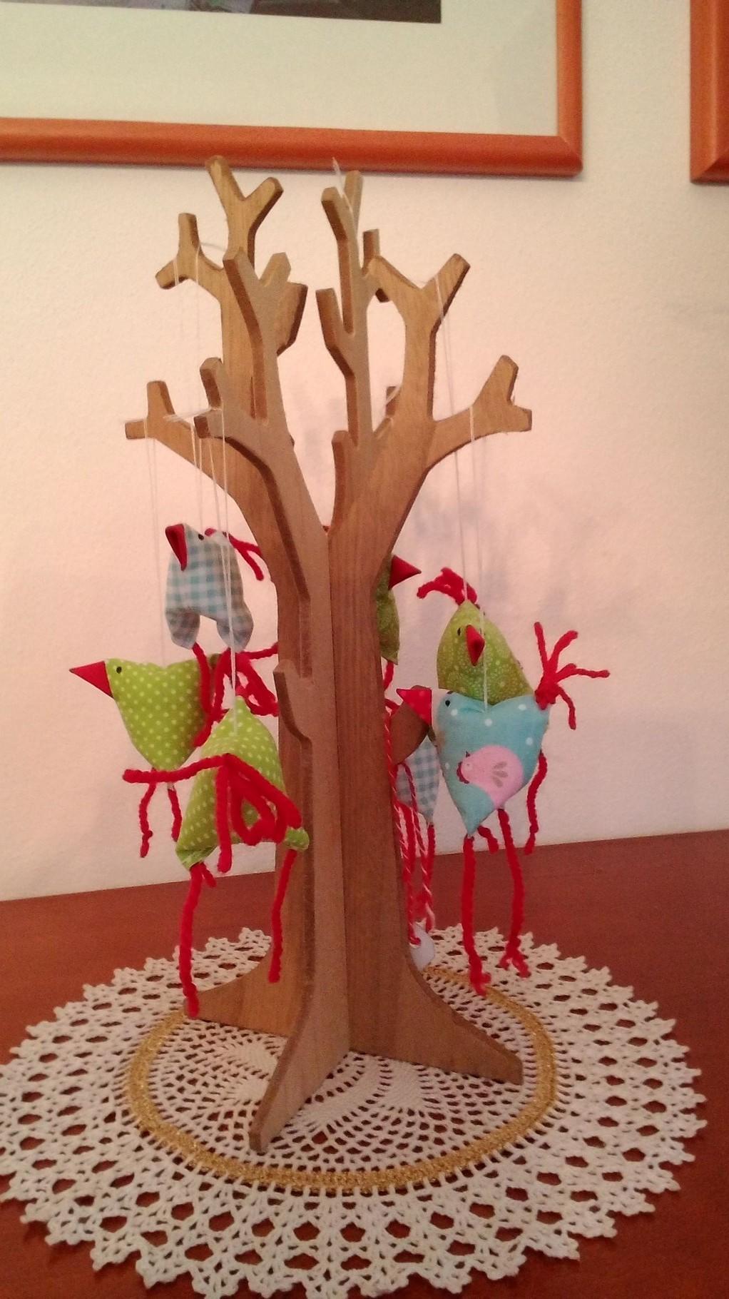 kleine Deko-Vögel