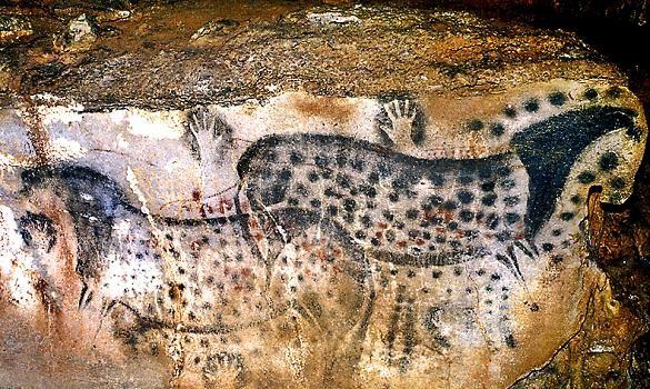 peinture rupestre - Grotte de Pech Merle