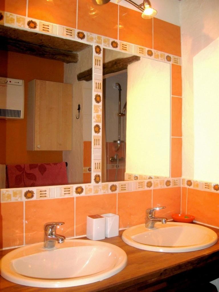 salle d'eau - 2 vasques