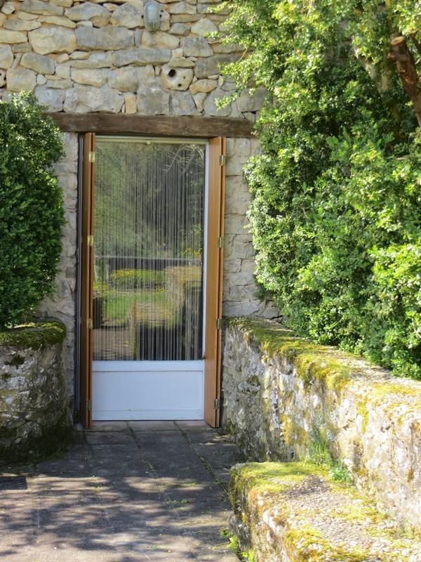 Porte côté terrasse