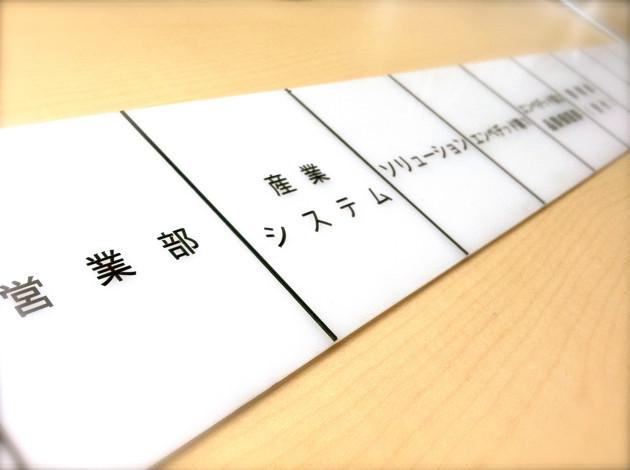 東海ソフト・エレベータ案内パネル