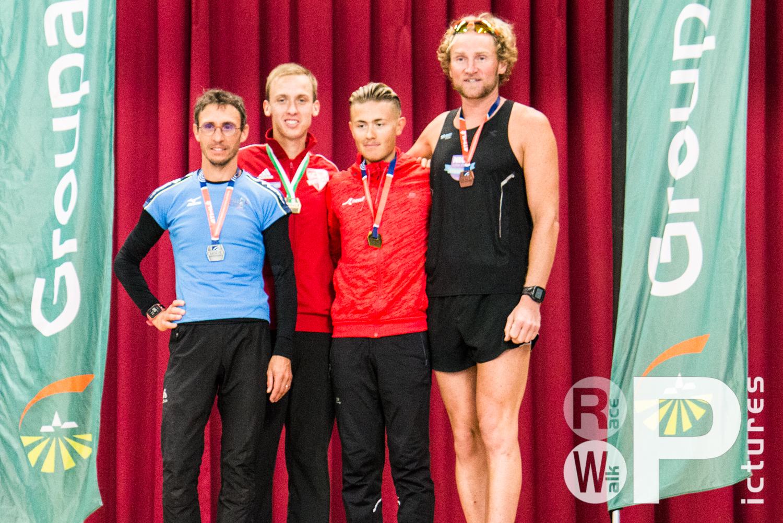 Siegerehrung mit den Top3 der nationalen Wertung (Foto: Philipp Mintken)