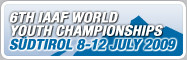 6th IAAF World Youth Championships, Südtirol/Italy