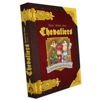 "<FONT size=""5pt"">Chevaliers Tome 1 BD - <B>23,00 €</B> </FONT>"