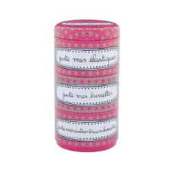"""<FONT size=""""5pt"""">Boite accessoires cheveux Juste-rose - <B>12,50 €</B> </FONT>"""