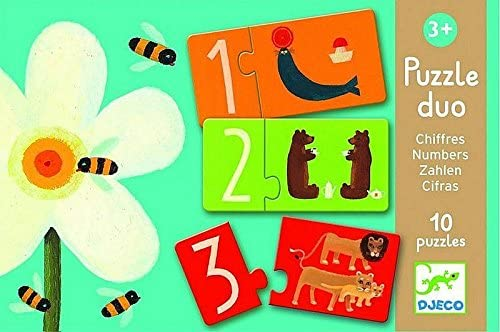 """<FONT size=""""5pt"""">Puzzle duo Chiffres - <B>8,50 €</B> </FONT>"""