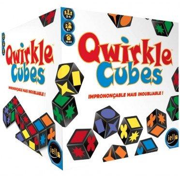 """<FONT size=""""5pt"""">Qwirkle Cubes - <B>33,50 €</B> </FONT>"""