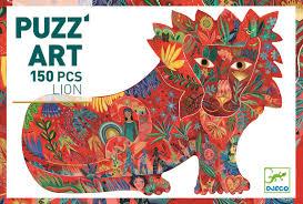 """<FONT size=""""5pt"""">Puzz'Art Lion 150P - <B>14,50 €</B> </FONT>"""