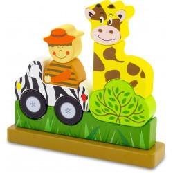 """FONT size=""""5pt"""">Puzzle Magnétique Le Zoo- <B>20,50 €</B> </FONT>"""