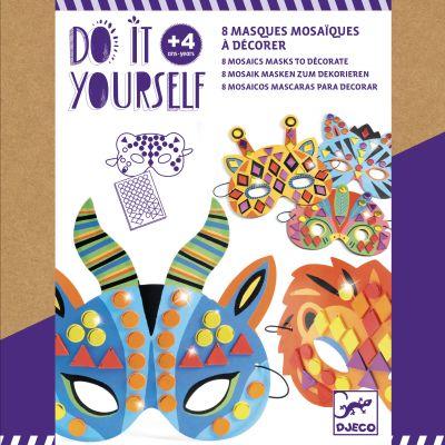 "<FONT size=""5pt"">DIY 8 masques mosaïques - <B>9,50 €</B> </FONT>"