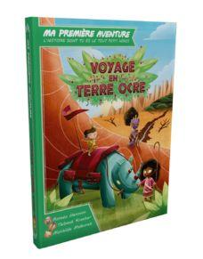"""<FONT size=""""5pt"""">Voyage en terre d'ocre - <B>18,90 €</B> </FONT>"""