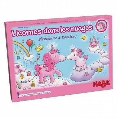 """<FONT size=""""5pt"""">Licorne dans les nuages - <B>8,00 €</B> </FONT>"""