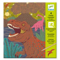 "<FONT size=""5pt"">Carte à gratter Dinosaures - <B>5,50 €</B> </FONT>"