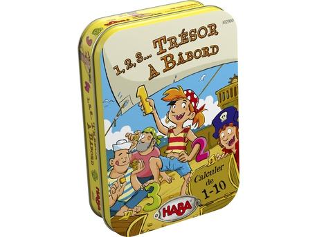 """<FONT size=""""5pt"""">1,2,3 Trésor à Babord - <B>9,90 €</B> </FONT>"""