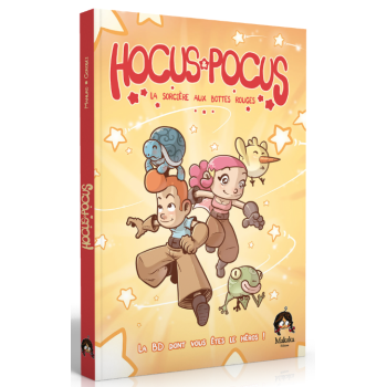 "<FONT size=""5pt"">Hocus Pocus BD L'Epreuve - <B>19,90 €</B> </FONT>"