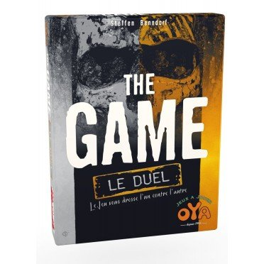 """<FONT size=""""5pt"""">The Game Duel - <B>12,50 €</B> </FONT>"""
