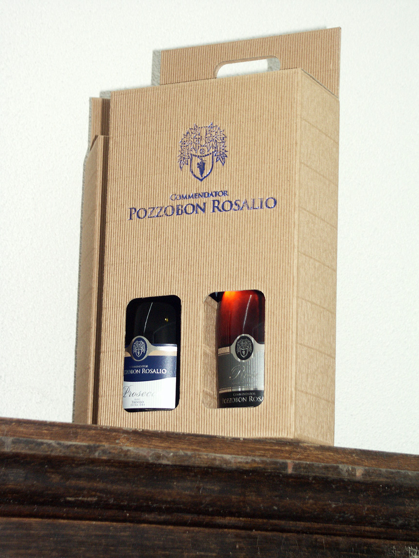 Two bottles gift box