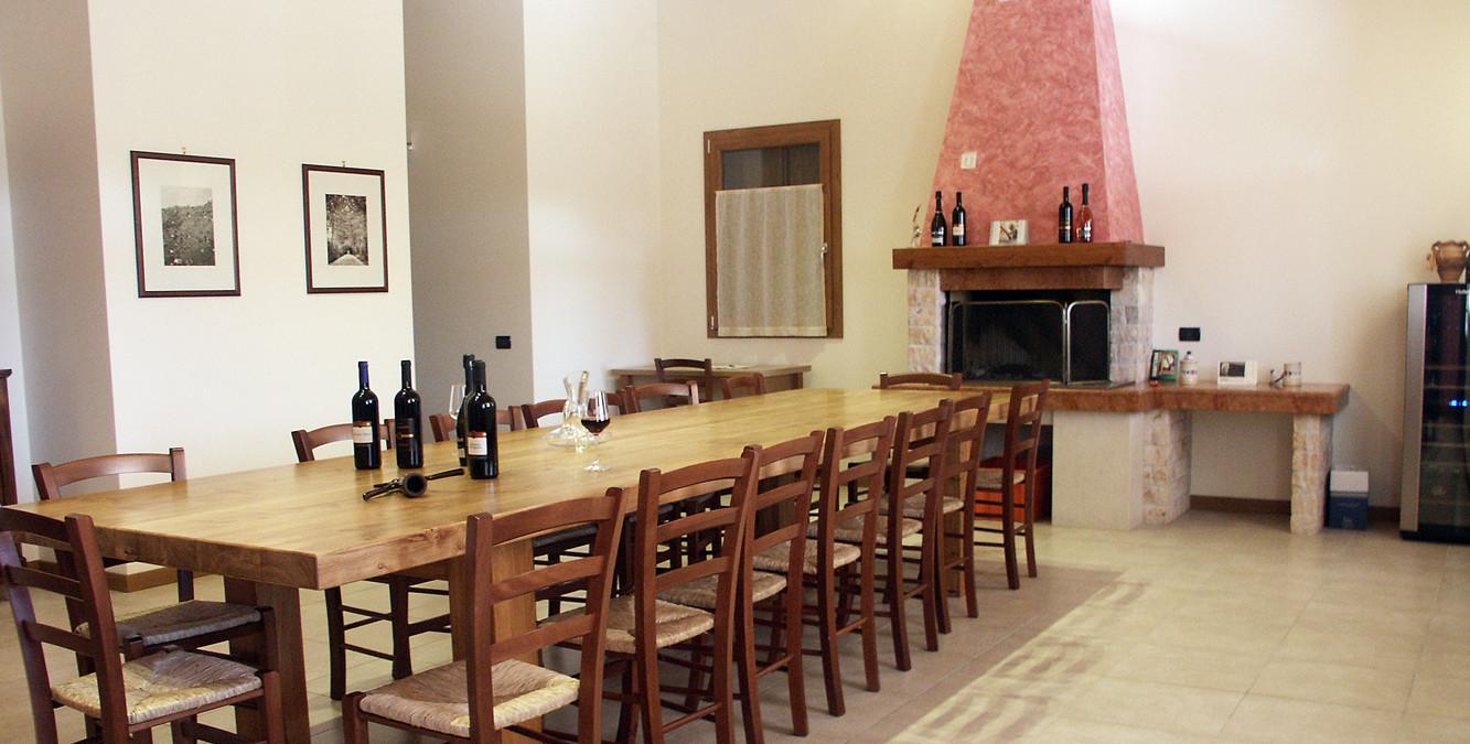 Sala degustazione per i nostri affezionati clienti